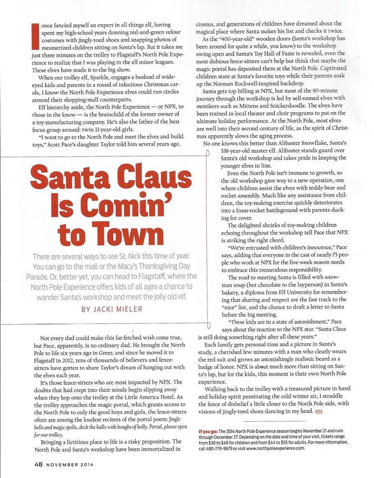 Arizona Highways Magazine November 2014
